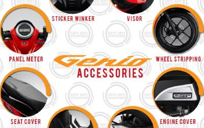 Accesoris New Honda Genio Terbaru 2019